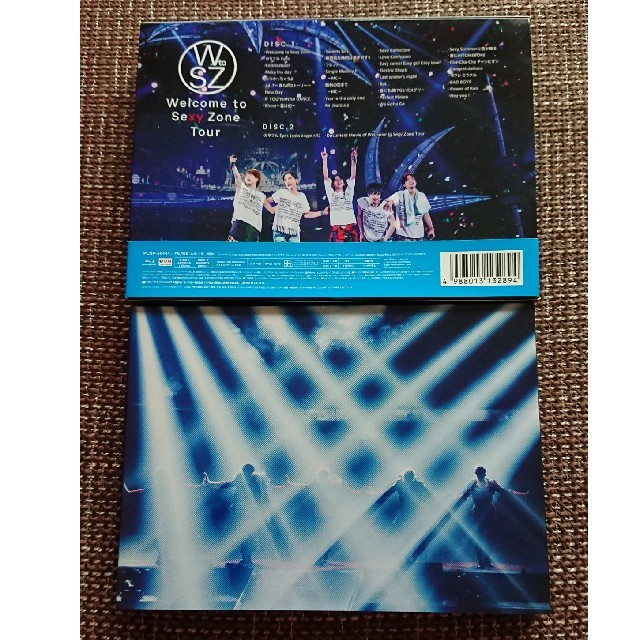 Sexy Zone(セクシー ゾーン)のWelcome to Sexy Zone Tour(初回限定盤) Blu-ray エンタメ/ホビーのDVD/ブルーレイ(ミュージック)の商品写真