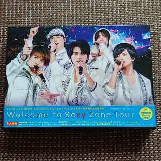 Sexy Zone - Welcome to Sexy Zone Tour(初回限定盤) Blu-ray