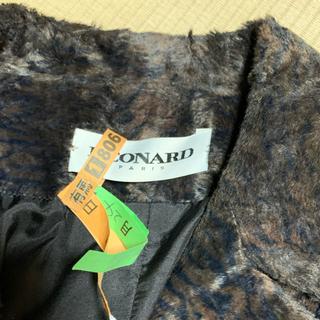 レオナール(LEONARD)のお値下げ 美品☆レオナール☆パリ インポート シルクロングコート 40(ロングコート)