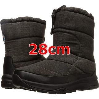 ザノースフェイス(THE NORTH FACE)のザノースフェイス ブーツ ヌプシ ブーティー WP プリント 28cm ブラック(ブーツ)