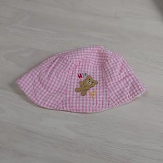 ミキハウス(mikihouse)のMIKI HOUSE 女児 帽子(帽子)
