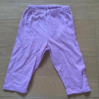 ムジルシリョウヒン(MUJI (無印良品))の良品企画 ピンク レギンス 80(パンツ)