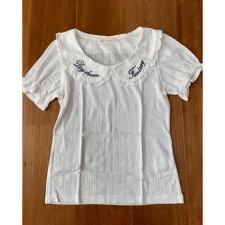 アンクルージュ(Ank Rouge)のアンクルージュ 襟付きトップス(カットソー(半袖/袖なし))