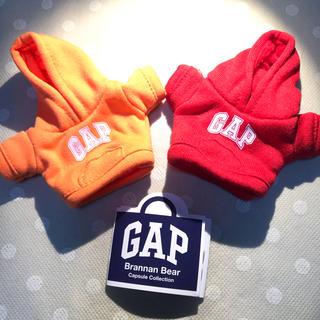 ギャップ(GAP)のGAP ガチャ ブラナンベア パーカー  オレンジ 赤 セット(キャラクターグッズ)
