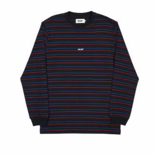 シュプリーム(Supreme)のPALACE BASICALLY A STRIPE LONGSLEEVE(Tシャツ/カットソー(七分/長袖))