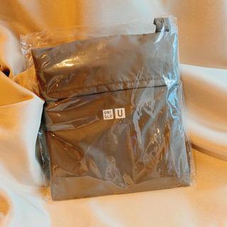 ユニクロ(UNIQLO)のユニクロ エコバッグ ノベルティ グレー 限定品 新品 未使用 未開封(エコバッグ)