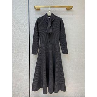 ディオール(Dior)の☆DIOR☆ニット ドレス 38(ロングワンピース/マキシワンピース)