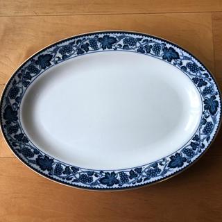ニッコー(NIKKO)の3月末までの出品❗️ニッコーアイアンストーンダブルフエニックス 楕円大皿(食器)