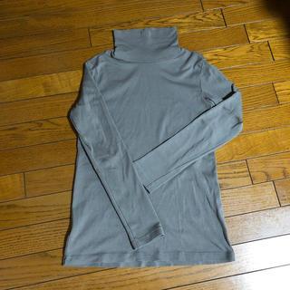 ムジルシリョウヒン(MUJI (無印良品))のMUJI 無印良品 ハイネック ロングTシャツ(Tシャツ(長袖/七分))