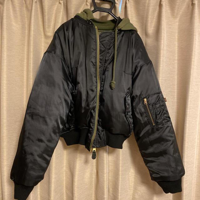 vetements ALPHAコラボ ma-1 メンズのジャケット/アウター(フライトジャケット)の商品写真