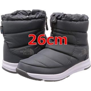ザノースフェイス(THE NORTH FACE)のザノースフェイス ブーツ 26cm ヌプシ ライト IV WP ショート グレー(ブーツ)