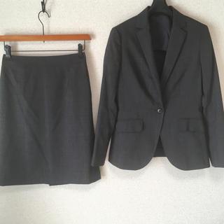 スーツカンパニー(THE SUIT COMPANY)のスーツカンパニー 40 W70 スカートスーツ 未使用に近い 夏 サマー DMW(スーツ)