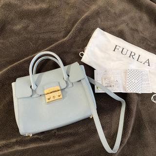 Furla - フルラ メトロポリスサッチェルS ライトブルー バッグ
