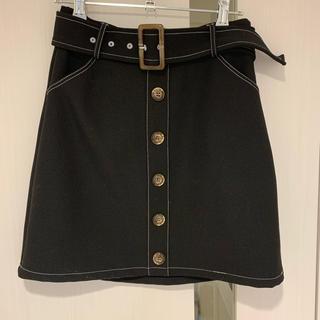 LIP SERVICE - リップサービス 黒 ミニスカート