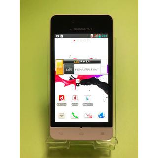 エルジーエレクトロニクス(LG Electronics)のdocomo L-05D ドコモ ホワイト 42(スマートフォン本体)