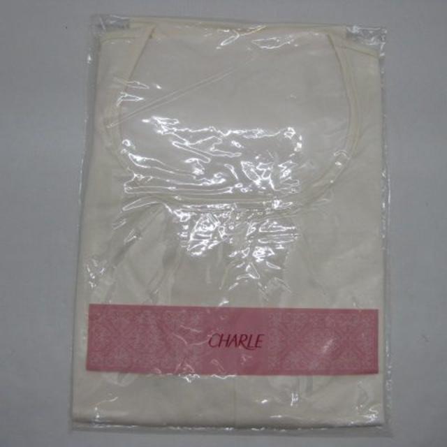 シャルレ(シャルレ)の*1284・シャルレ 半袖カットソー アイボリー LLサイズ 未使用品 レディースのトップス(カットソー(半袖/袖なし))の商品写真