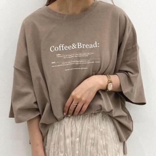 Kastane - apres  jour mignon ロゴTシャツ 韓国