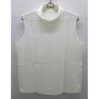 シャルレ - *1285・シャルレ タートルネック 袖なしカットソー オフホワイト 未使用品