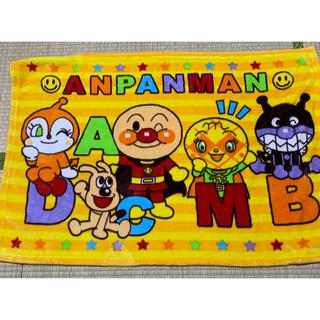 アンパンマン(アンパンマン)のお昼寝やベビーカーに♪アンパンマン 膝掛け毛布(おくるみ/ブランケット)