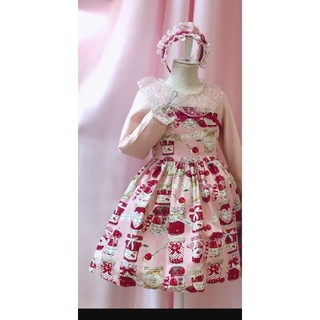 Shirley Temple - シャーリーテンプルジャム瓶ジャンパースカート
