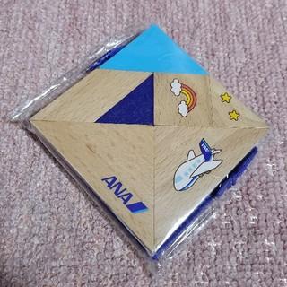 エーエヌエー(ゼンニッポンクウユ)(ANA(全日本空輸))のANA 木製 脳育タングラム(知育玩具)