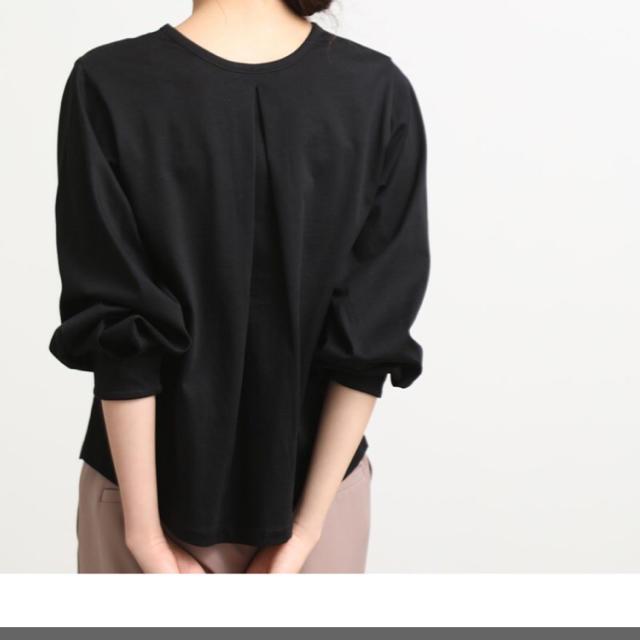 ViS(ヴィス)の【ViS】タックボリューム袖プルオーバー レディースのトップス(カットソー(長袖/七分))の商品写真