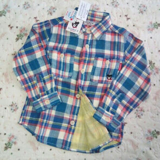 ミキハウス(mikihouse)の専用 新品★100★ダブルB★シャツ&ロンT2枚計3点セット(Tシャツ/カットソー)