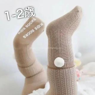 ぽんぽん付き靴下  レギンス+靴下のセット 2点セット 韓国子供服