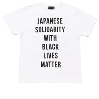 ダブルタップス(W)taps)のHUMAN MADE BLACK LIVES MATTER チャリティーTシャツ(Tシャツ/カットソー(半袖/袖なし))