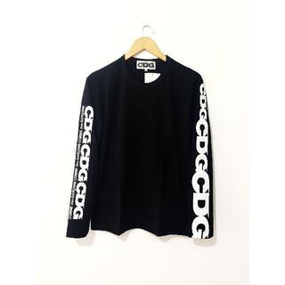 コムデギャルソン(COMME des GARCONS)のCOMME des GARCONS コムデギャルソン 長袖 Tシャツ 黒 L(Tシャツ/カットソー(七分/長袖))
