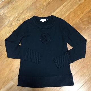 Tory Burch - トリバーチ セーター xs ブラック