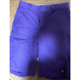 ディッキーズ(Dickies)のディッキーズ ハーフパンツ 紫 32インチ(ハーフパンツ)