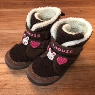 ミキハウス(mikihouse)のミキハウス うさこ ブーツ 16cm(ブーツ)