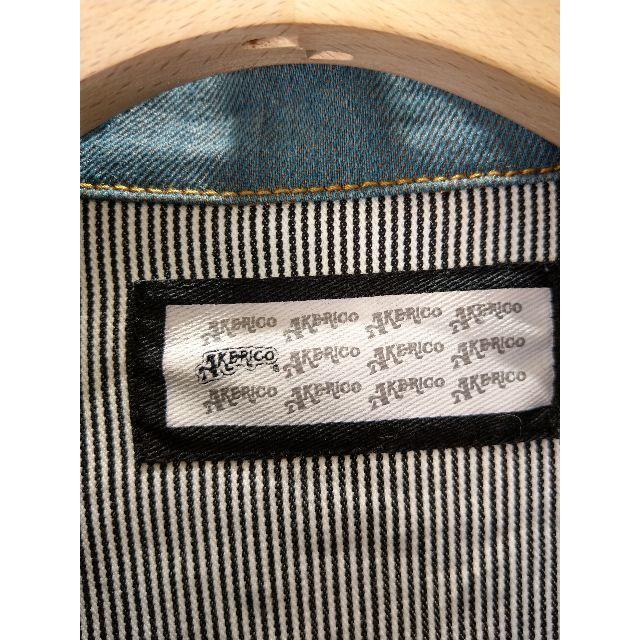 AKERICO(アケリコ)の★美品★キレイめジージャン デニムブルゾン メンズのジャケット/アウター(Gジャン/デニムジャケット)の商品写真