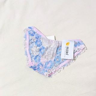 しまむら - 新品 ♢ フラワー レース ランジェリー シースルー 透け ショーツ パンツ