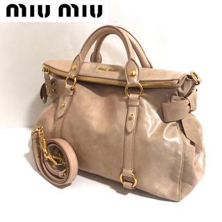 miumiu - 【正規品】miumiu✨2way/ショルダーバッグ/ミュウミュウ