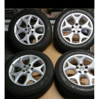 トヨタ - トヨタ エスティマ 50系 17インチ 純正 スタッドレスタイヤ ホイール 4本