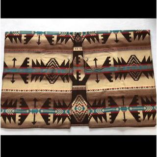 ラルフローレン(Ralph Lauren)のラルフローレン カントリー ネイティブ ポンチョ ベージュ(ポンチョ)