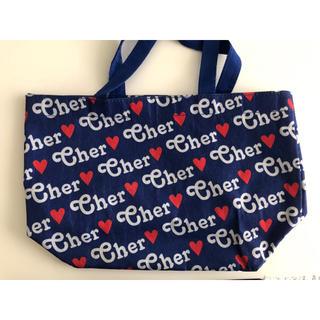 シェル(Cher)のcher シェル トートバッグ 付録 青 エコバッグ(エコバッグ)