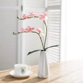 胡蝶蘭 造花 ピンク1本(その他)