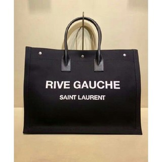 サンローラン(Saint Laurent)のサンローラン トートバッグ YSL イブサンローラン ブラック ショルダーバッグ(トートバッグ)