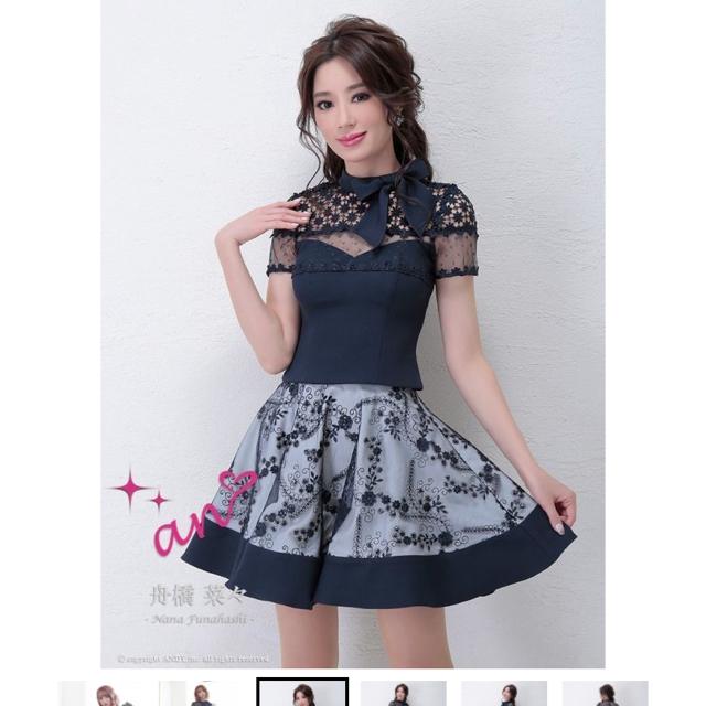 an(アン)のan ミニドレス レディースのフォーマル/ドレス(ナイトドレス)の商品写真