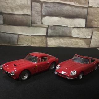 フェラーリ(Ferrari)の1/43 フェラーリ 275GTB4スパイダー・250GT SWBベルリネッタ(ミニカー)
