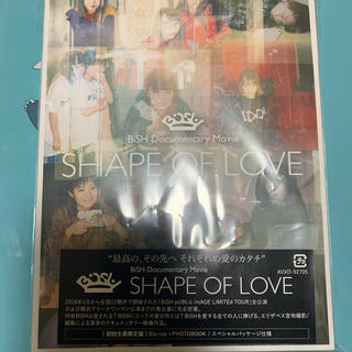 bish SHAPE OF LOVE 初回生産限定盤 Blu-ray