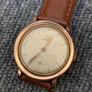 OMEGA - 腕時計 オメガ 手巻き 機械式 メンズ スモセコ