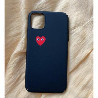 コムデギャルソン(COMME des GARCONS)のギャルソン ♡ iPhoneケース iPhone11 シンプル ハード(iPhoneケース)