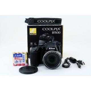 美品 ニコン NIKON COOLPIX B500 動作確認済み・元箱付き 出