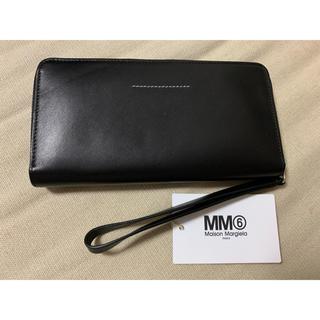 エムエムシックス(MM6)のメゾンマルジェラ  MM6 長財布 黒(財布)