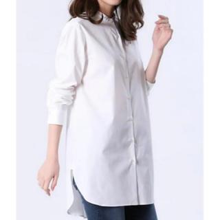 PLST - 美品 プラステ コットンブロードチュニックシャツ S