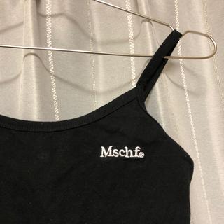 スタイルナンダ(STYLENANDA)のMISCHIEF ミスチーフ キャミソール ブラック (Tシャツ(半袖/袖なし))